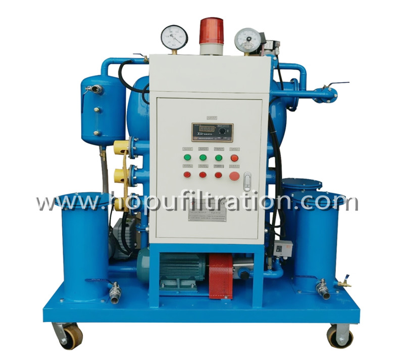 The Working Principle Of Vacuum Oil Purifier