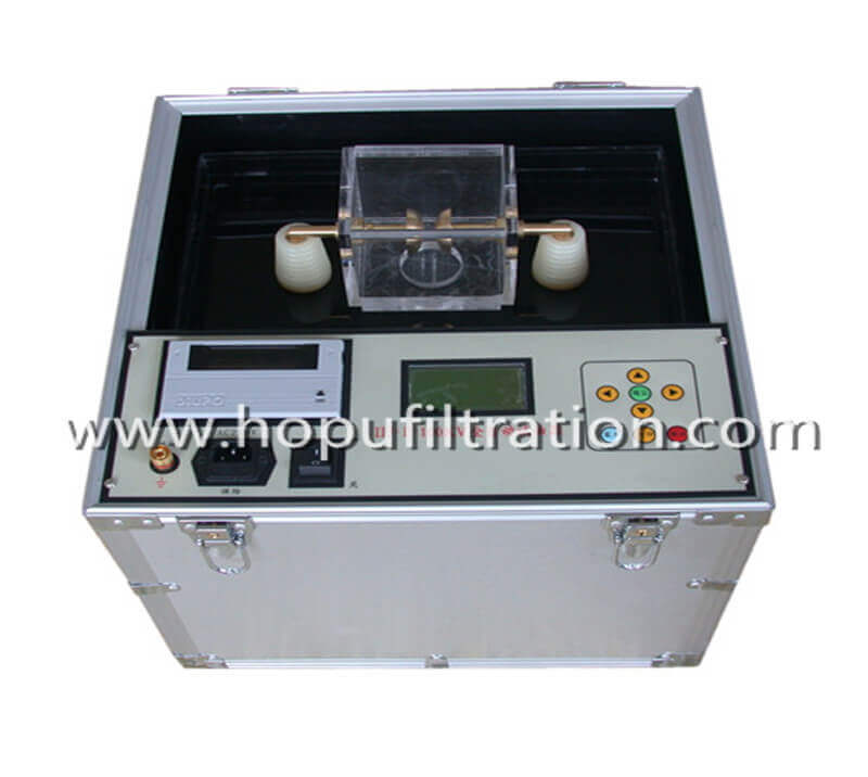 Transformer Oil Tester,oil breakdown voltage dielectric strength testing Set