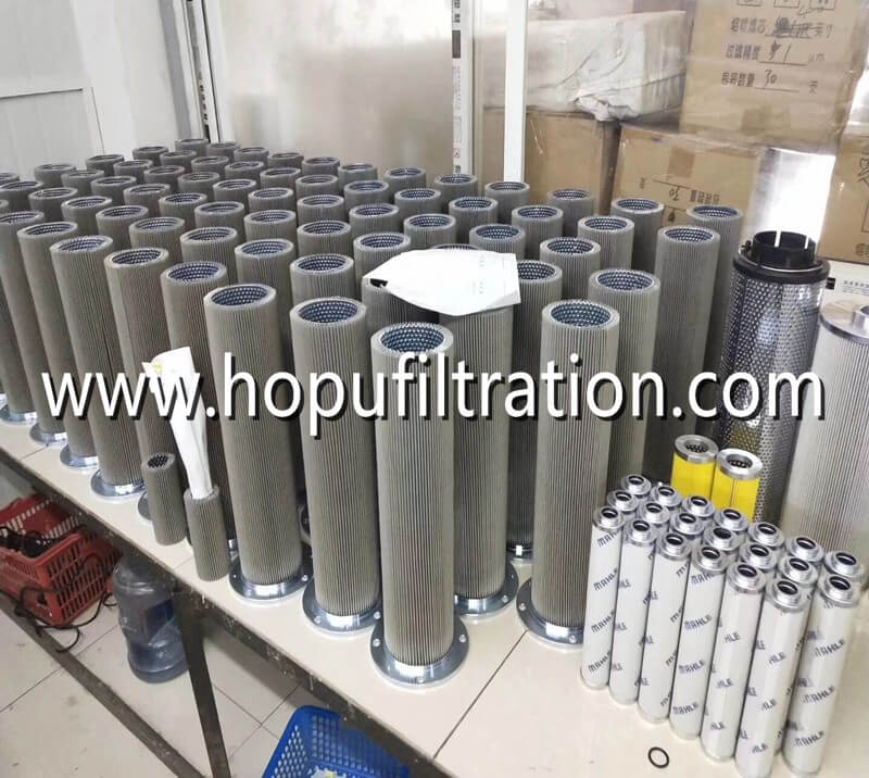 Various Vacuum Oil Purifier Oil Filter Element Parts For Different Stage Filtering