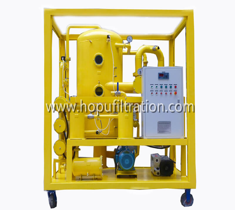Ultra High Voltage Vacuum Transformer Oil Filtration Machine, Used Oil Treatment Plant 1000KV, ±800KV, 750KV, ±660KV project