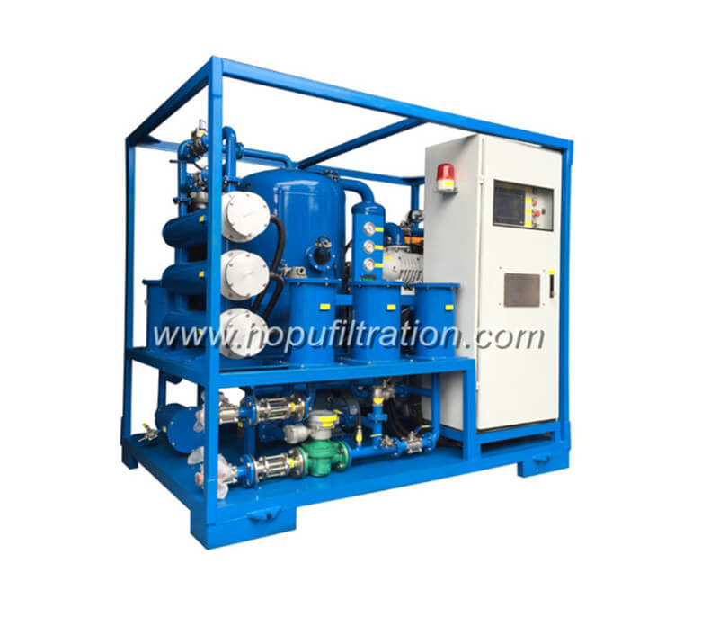 Transformer oil regeneration Equipment, Vacuum Oil Dehydration System