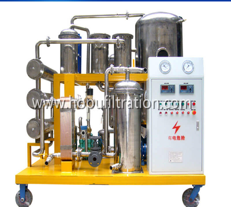 Vacuum Hydraulic Oil Filtration Machine, Phosphate Ester Fire-resistant Oil Purifier