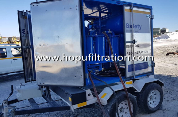 mobile high voltage transformer oil treatment plant, onsite transformer oil puri