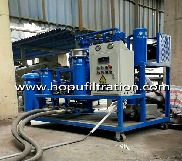 Vacuum Lubricant Oil Purifier for Cement Mill