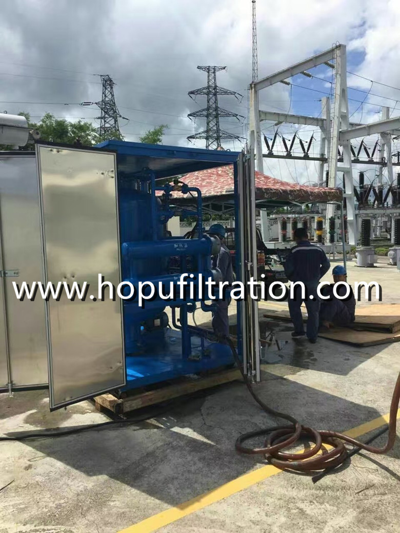 Untra High Voltage Transformer Oil Treatment Plant with Aluminum Alloy Cover