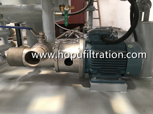 Vacuum Transformer Oil Filtration Machine for delivery