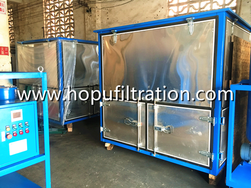 Enclosed Cabinet Vacuum Dielectric Oil Purifier Plant for shipping