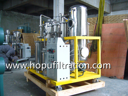 stainless steel type hydraulic oil purifier delivery
