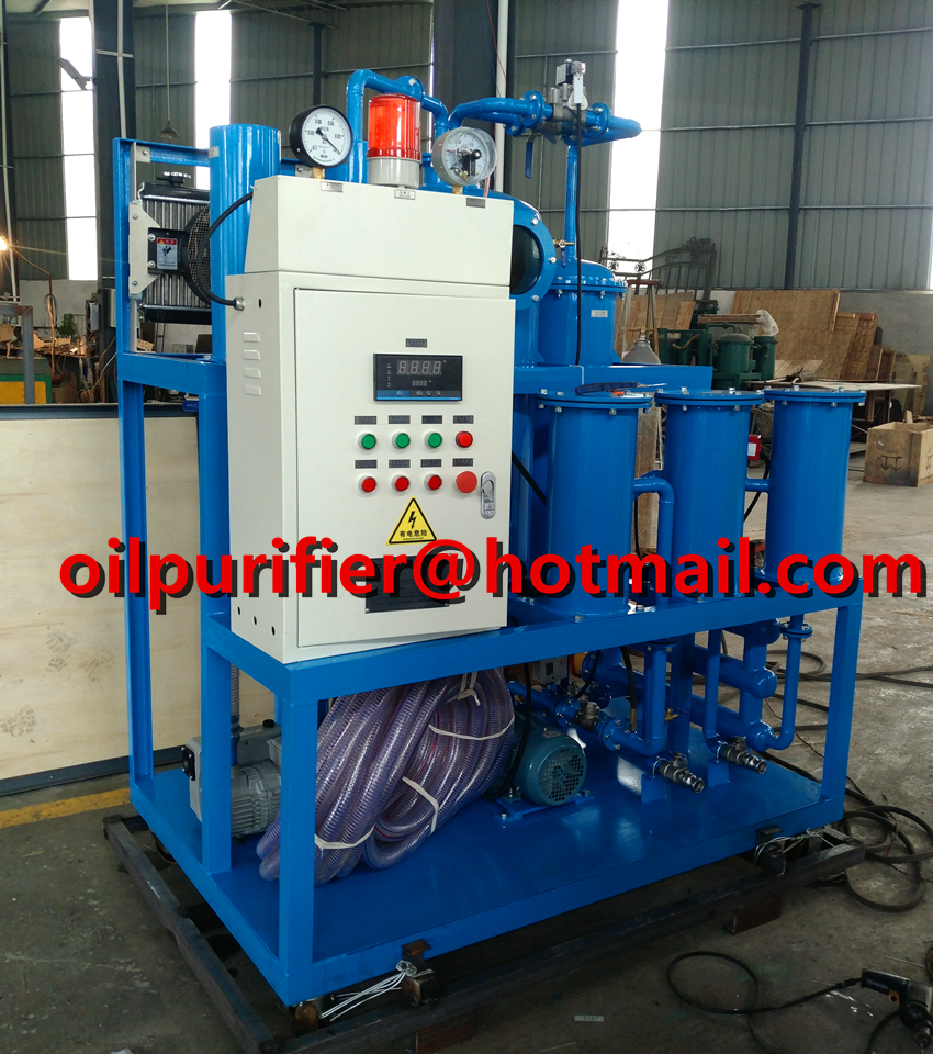 Lubricant Turbine Gear Oil Purifier