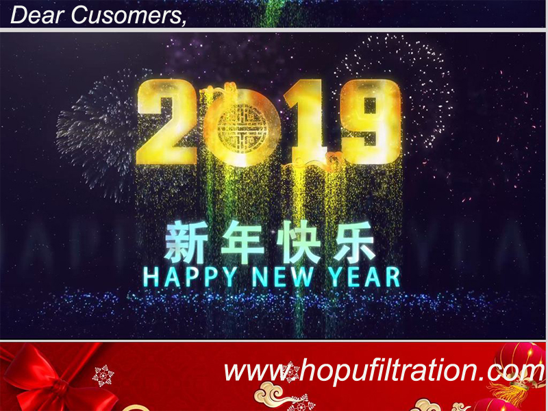 HOPU Oil Purifier Wish You Happy New Year 2019