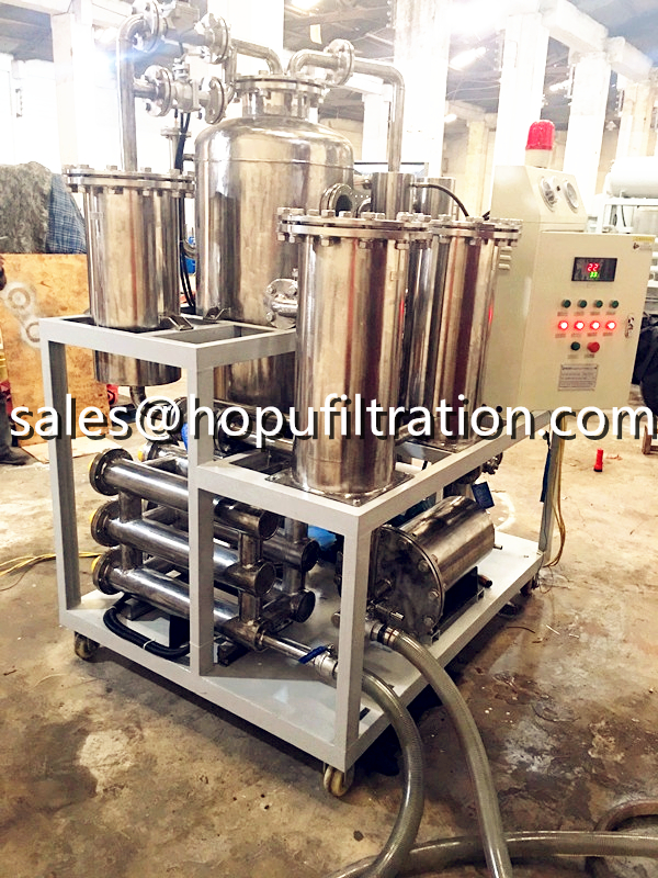 Stainless Steel Hydraulic Oil Flushing Purifier