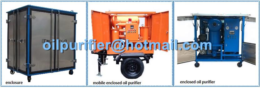 6000LPH Transformer Oil Regeneration Plant shipping