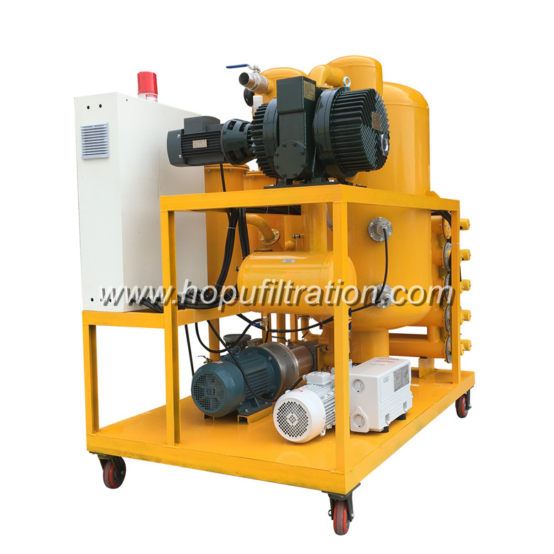 Reliability Of Vacuum Transformer Oil Filtration Machine