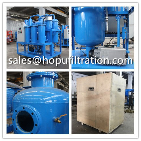 Vacuum Turbine Oil Purification Plant Delivery