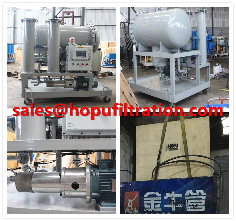 Diesel Fuel Oil Purification Separator machine for delivery