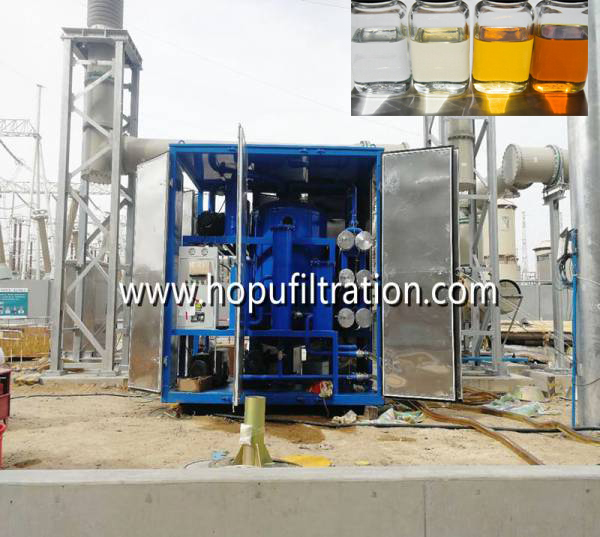 What are the benefits of transformer oil filtration machine?