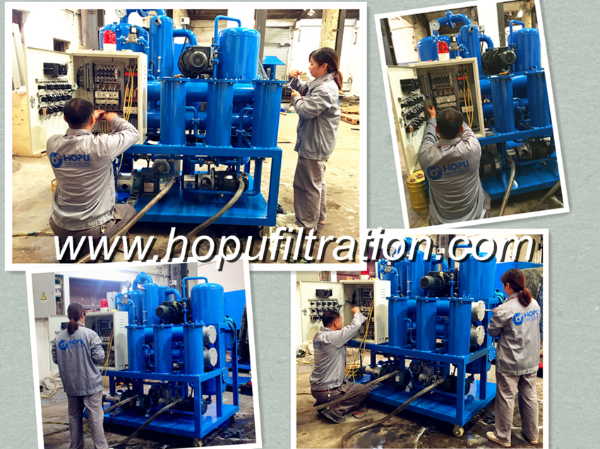 Maintenance of Vacuum Oil Purifier