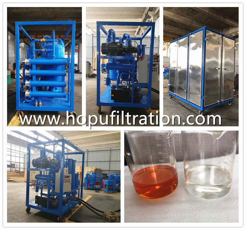 10,000 liters per hour transformer oil purifier, vacuum degassing and dehydration system