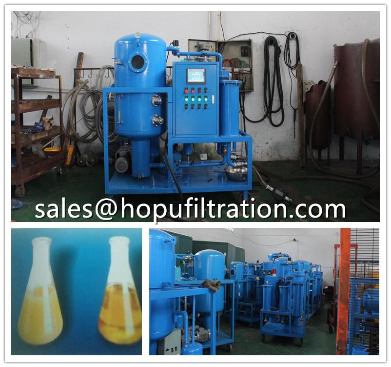 Hot sale Vacuum turbine oil dehydration machine