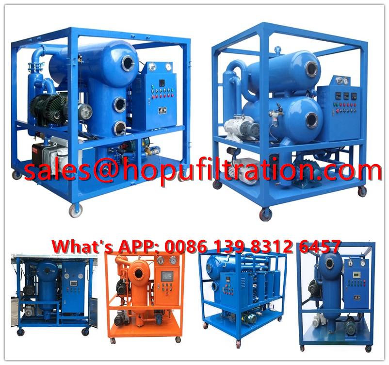 Hot Sale Horizontal Vacuum Transformer Oil Purification Unit