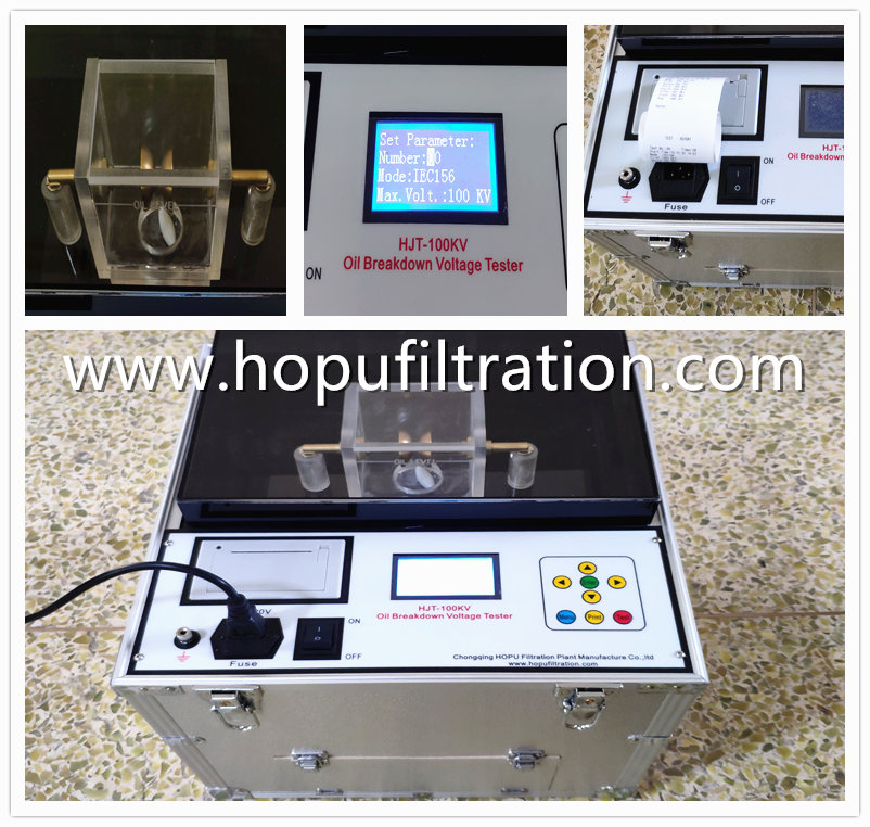 Transformer Oil Dielectric Strength BDV Tester shipping to Australia