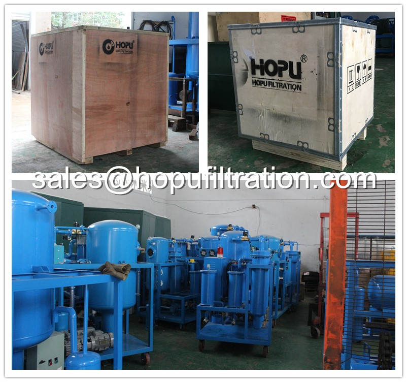 Oil Purification machine and oil tester delivery