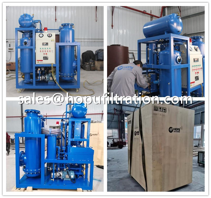 Vacuum Oil Purifier Delivery