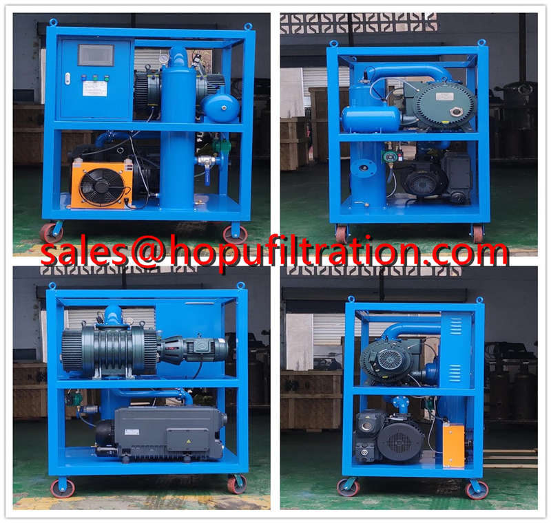 Transformer Vacuum Evacuation System and Pumping Set