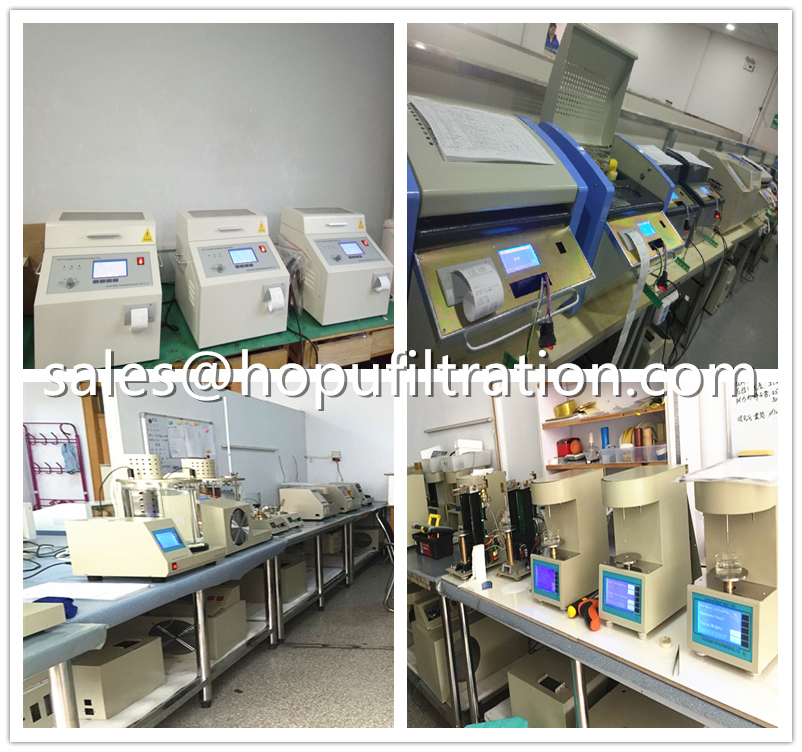 Oil Analyzer and  HOPU Oil Tester