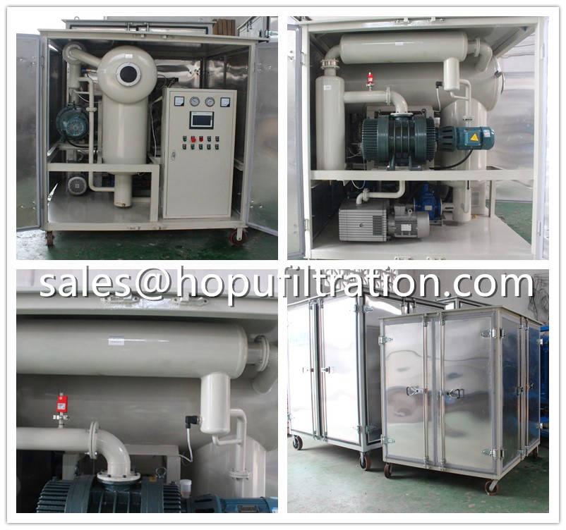Newly Horizontal Vacuum Oil Purification Unit