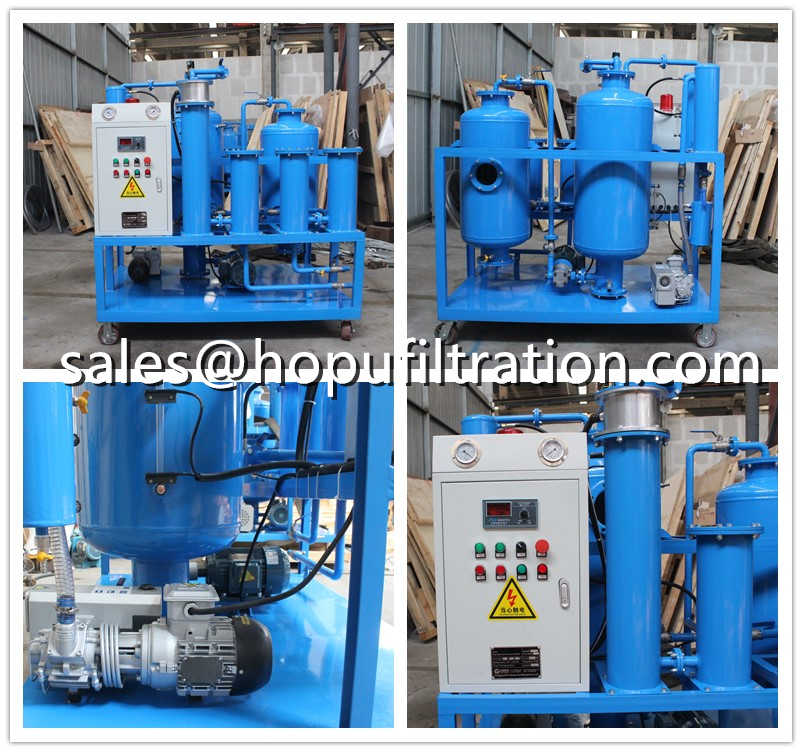 Single Stage vacuum transformer oil regeneration unit ready for delivery