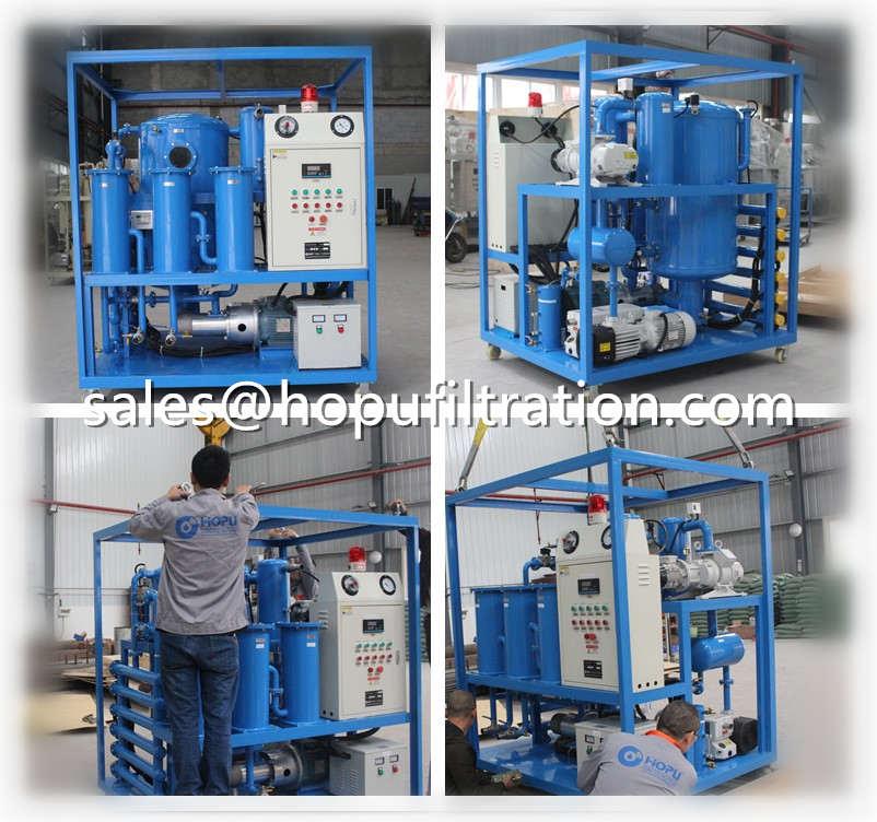 6000LPH Vacuum Transformer Oil Dehydration System
