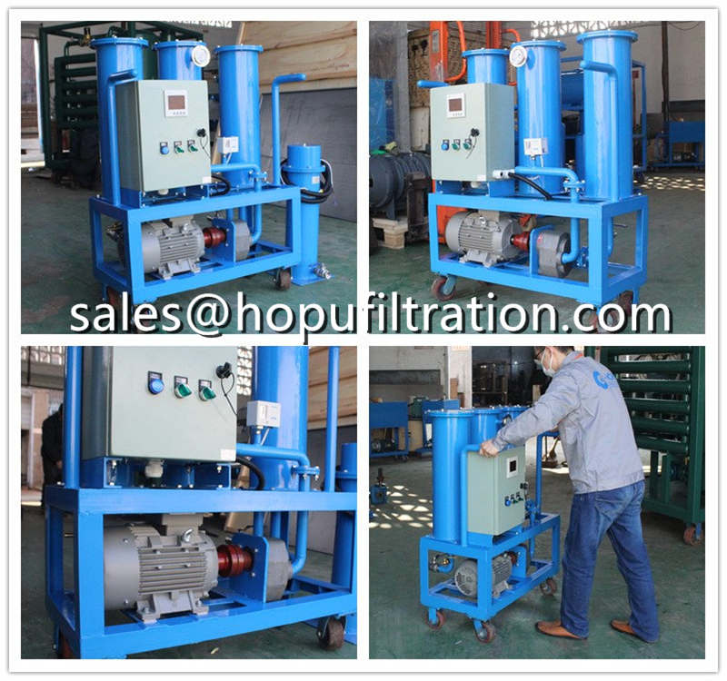 Portable Oil Filtering and Oilling Machine