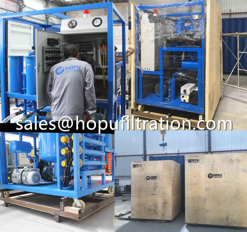 6000LPH transformer oil purifier delivery