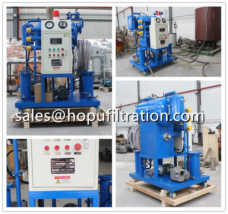 Insulation Oil Fliltration Machine, Mini Vacuum Transformer Oil Purifier