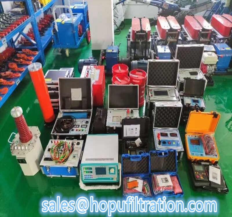 Hot sale transformer oil tester, lube oil analyzer