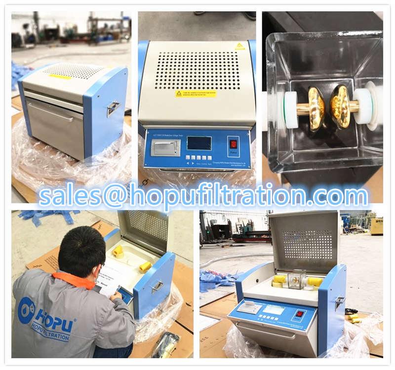 Transformer Oil Dielectric Strength Tester