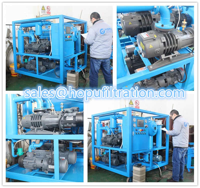transformer oil dehydration and drying system