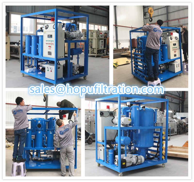 Frame Type Transformer Oil Filtration Equipment