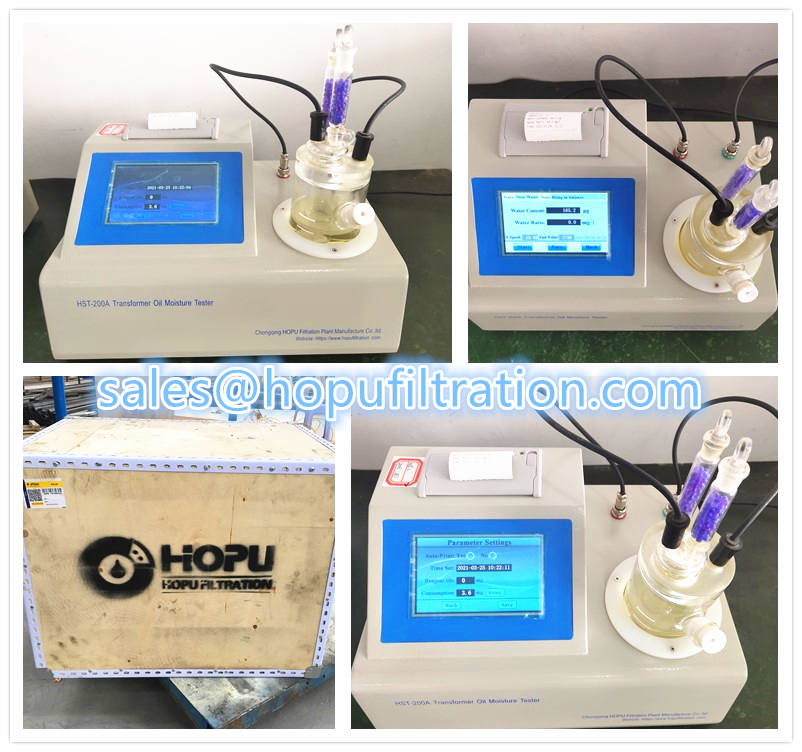 Oil Moisture Tester, Oil Water Content Analyzer