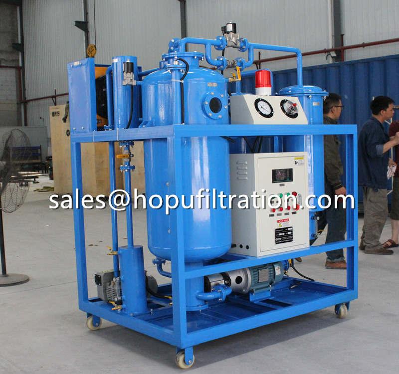 Vacuum Turbine Oil Purification Plant