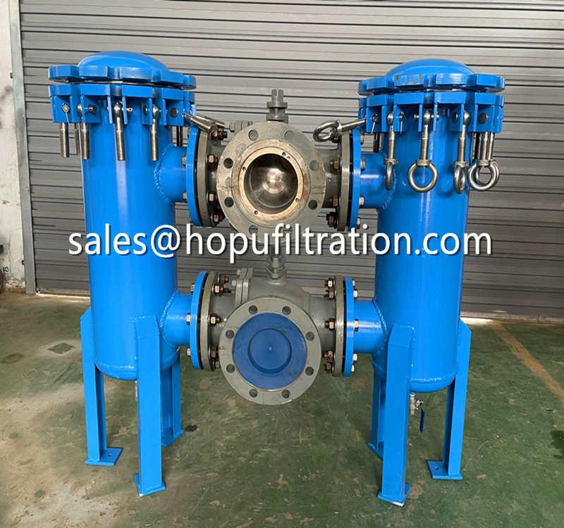 High Speed Diesel Oil Pipe Duplex Filter