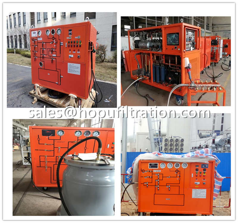 SF6Gas Purification and  RefillingUnit