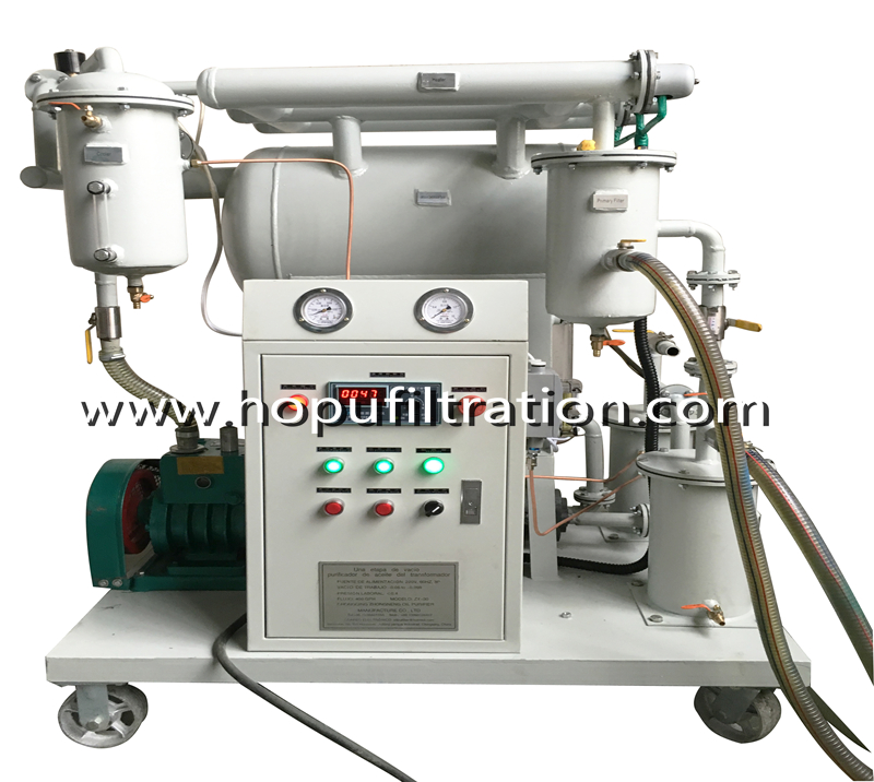 Vacuum Transformer Oil Filtration Machine Selection Recommended