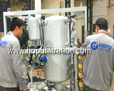 ZYD Double Stage Vacuum Transformer Oil Purifier for shipping
