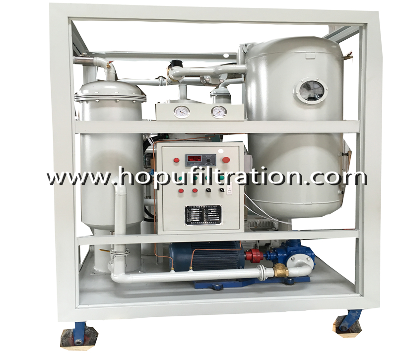 Vacuum Turbine Oil Purifier,Emulsion Oil Purification Plant