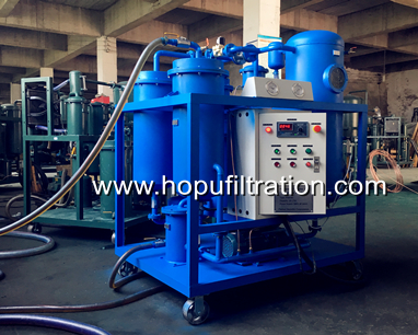 vacuum turbine oil purifier delivery
