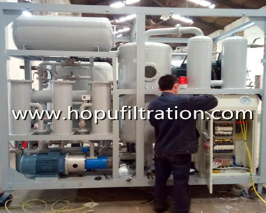 Transformer insulator oil regeneration plant shipping
