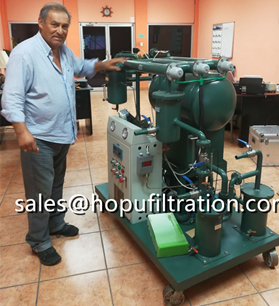 insulation oil purifier and oil tester in buyer's lab