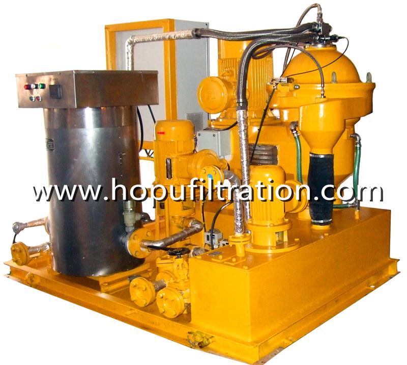 Marine Centrifugal Oil Purifier, Heavy Fuel Oil Dehydration Plant